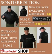 Bomberjacken und Outdoor-Westen Wake News TV xsm