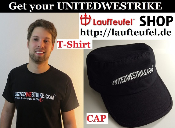 Get your UNITEDWESTRIKE T-Shirt + Cap sm